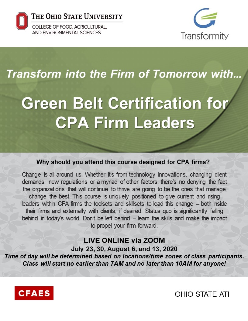 CPA Flyer - for more information contact 330-287-7511