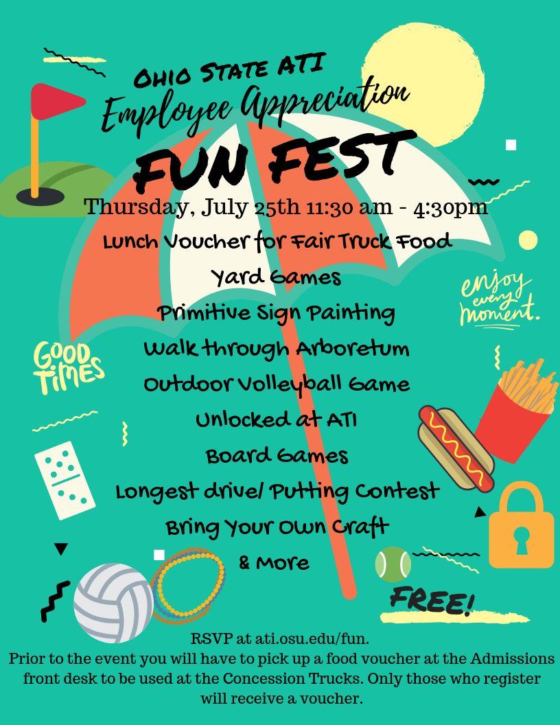 Employee Fun Fest Activities